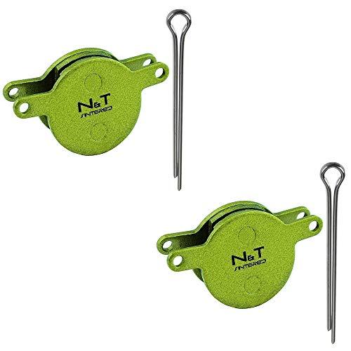 Noah et Theo 2 x Nt-bp032/SI Plaquettes Plaquettes de Frein à Disque Compatible Magura Julie 2001–2008 Type 4.1 et 4.2