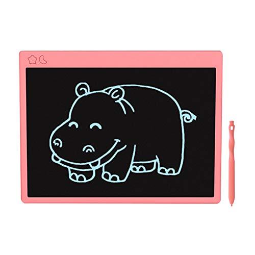 Adaskala Tableta de Escritura LCD de 16 Pulgadas, Tableta gráfica electrónica, Tablero de Dibujo y Escritura para el hogar, la Escuela, la Oficina, Rosa