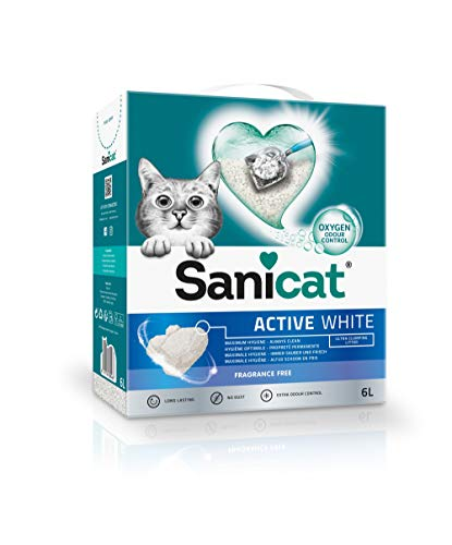 Sanicat Active White Unscented 6 L
