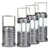 i-Star LED Camping Lights COB Technology Pack Of 4 - Portable Tough Lanterns