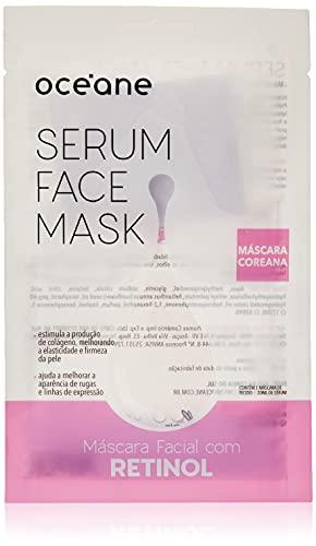 Máscara Facial Retinol, Serum Fac e Mask, Océane