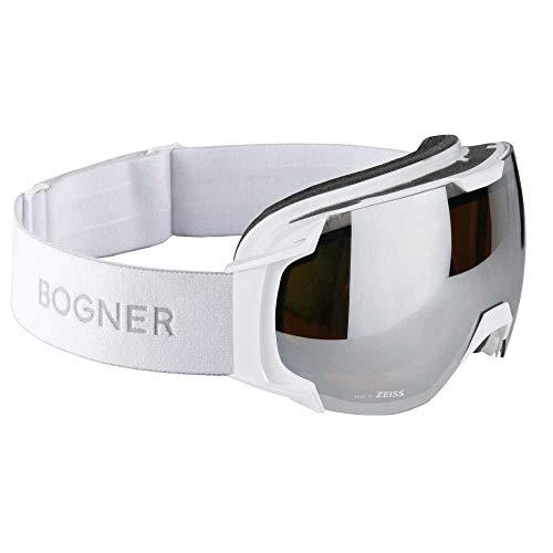 Bogner Snow Goggles Just B | Weiß | Ski & Snowboard Brille | Hochwertige Qualität