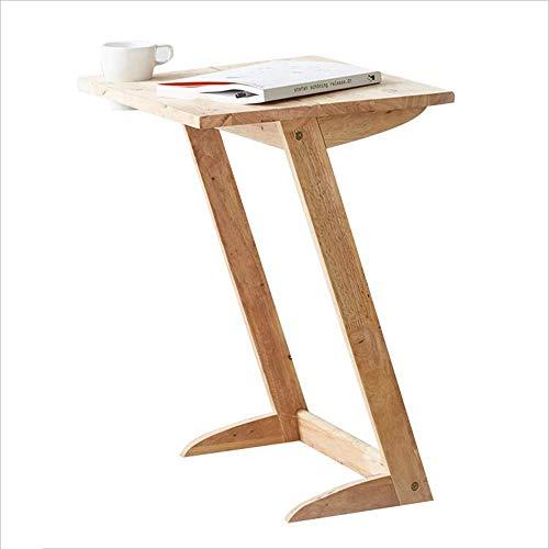 N/Z Wohngeräte Kaffee Kreatives Sofa Beistelltisch Reines Massivholz Studiertisch 61 * 50 * 40Cm