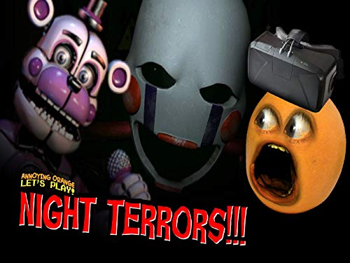 Clip: Night Terrors #1: Funtime Freddy & Nightmarionne (Annoying Orange Plays) Comedy Gaming Horror TV