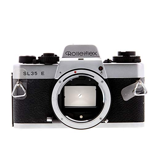 Cheapest Price! Rollei Rolleiflex SL35E Single Lens Reflex Chrome Camera Body