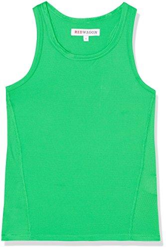 Marca Amazon - RED WAGON Camiseta sin Mangas para Niños, Verde (Apple...