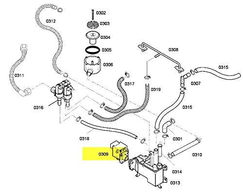 Pumpe Entleerung Becken REP 0309Referenz: 00499425Für Backofen Gaggenau