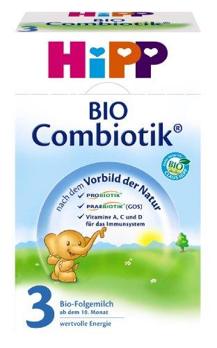 Hipp Bio Combiotik 3 Folgemilch - ab 10. Monat, 2er Pack (2 x 600g)