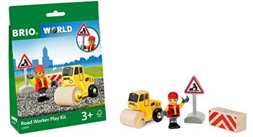 BRIO World - Road Worker Play Kit