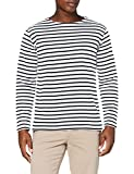 Armor Lux Herren Marinière Héritage T-Shirt, Multicolore (400 Blanc/Navire 400 Blanc/Navire), (Hersteller Größe: XX-Large)