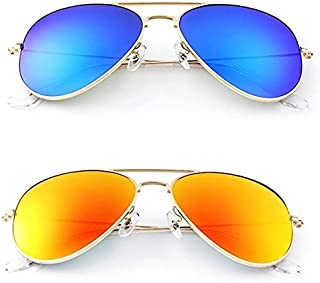 3be3826d120d Younky Offers Combo Pack Of 2 Stylish Branded Sunglasses For Men Women Boys  & Girls (