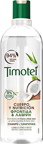 Timotei Champú Coco Y Aloe Vera - 400 ml
