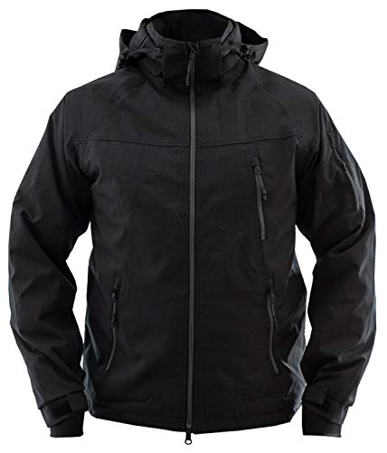 Fifty Five Warme Herren Winterjacke Skijacke Forester Schwarz L Wasserdicht