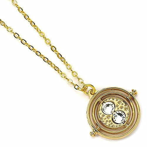 HARRY POTTER Carat Shop The Pendant & Necklace Fixed Time Turner (Gold Plated)