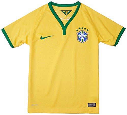 2014-15 Brazil Home World Cup Football Shirt (Kids)