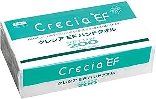 【ケース販売】 クレシア EF ハンドタオル ソフトタイプ 中判サイズ 2枚重ね 200組(400枚)/パック ×30パック入 37005