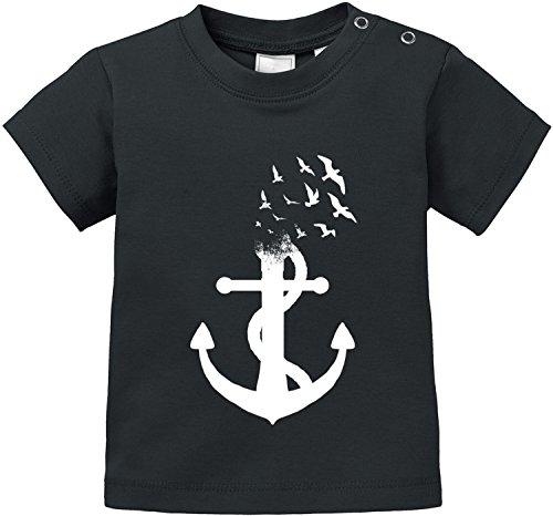 EZYshirt® Anker Ocean Baby T-Shirt Bio Baumwolle
