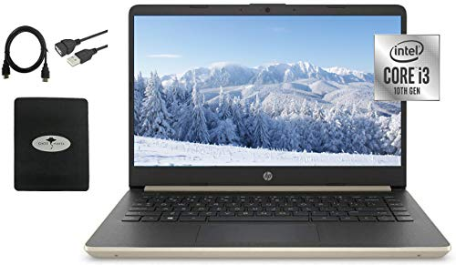 """2021 Newest HP 14"""" HD Laptop for Business and Student"""