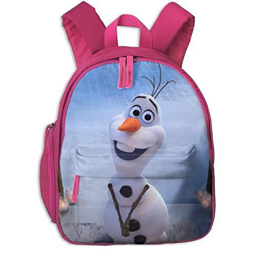 Hdadwy Fro-Zen Toddler Backpack Children Kindergarten School Pack for Outdoor School Travel Kindergarten Pink
