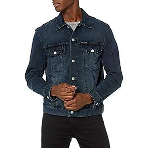 Calvin Klein Herren Denim Trucker Jacket Jeansjacke,