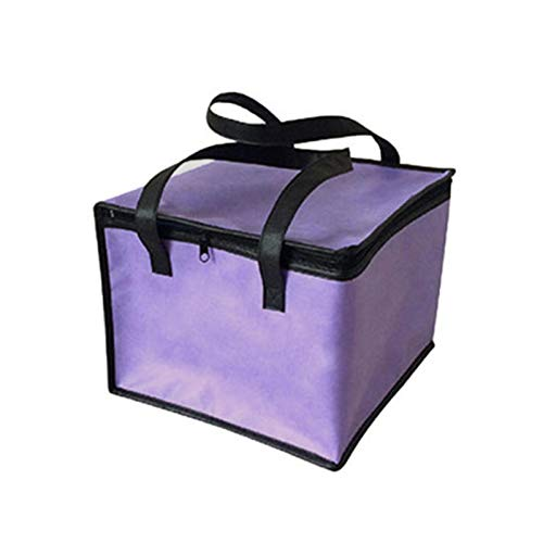 UKKO Bolsa de refrigeración grande portátil pastel de alimentos bolsa aislada hoja de aluminio caja térmica impermeable bolsa de almuerzo bolsa de entrega