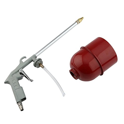 PETUNIA Herramienta de desengrasante de pulverizador de Aire de Pistola de Limpieza de Motor de automóvil portátil para automóvil (Gris)