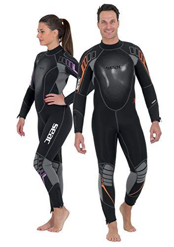 SEAC SUB - 0010218330025A/396: SEAC SUB - 0010218330025A/396 wetsuit 7 MM KOMODA TAGLIA XS