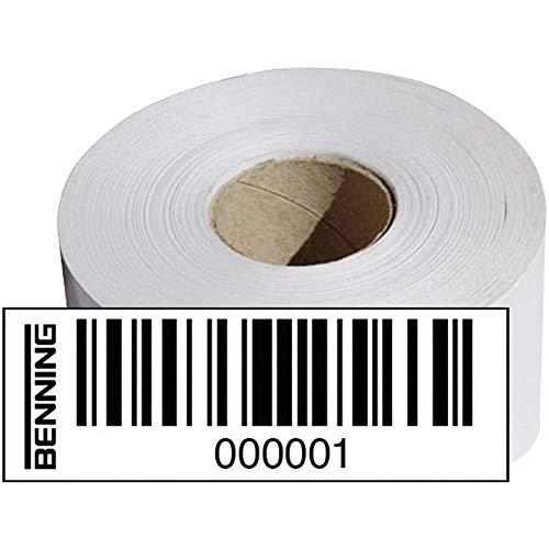 Benning Barcodeetiketten Nr. 2001 - 3000
