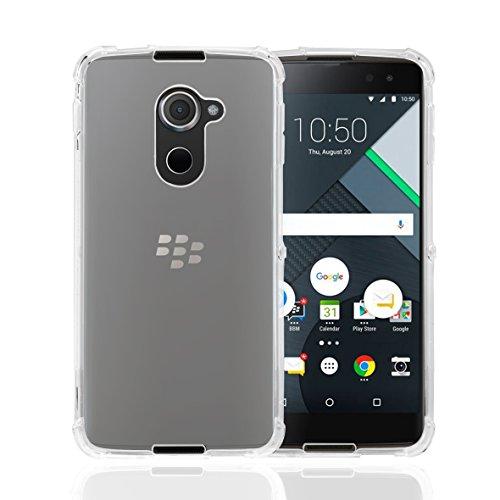 32nd Schutzhülle für BlackBerry DTEK60, widerstandsfähig, aus Silikon, geeignet für DTEK60, Modell 2016, Tough Gel - Clear