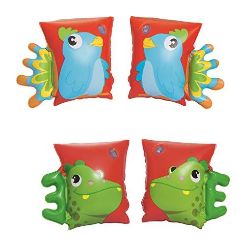 Bestway Dinosaurier & Papageien Schwimmflügel, 5-12 Jahre 23 x 15 cm