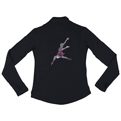 Skating-Jacke mit Strasssteinen. Layback (10 JAHRE)