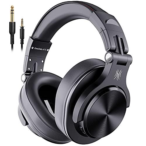 OneOdio A70 Cuffie Wireless Bluetooth, 50 ore di riproduzione, Cuffie Stereo Over Ear con Microfono...