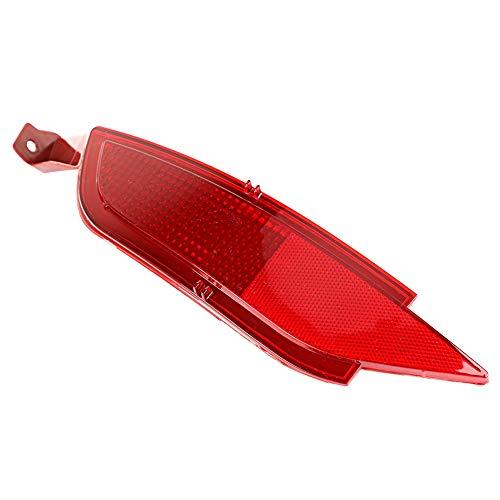 Gorgeri Parachoques trasero del coche Luz antiniebla izquierda Reflector de la cola Luz antiniebla trasera apta para FIESTA MK7 08-16
