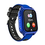 Impermeable GPS Smartwatch para Niños, IP67 Impermeable Reloj inteligente Phone con GPS LBS...