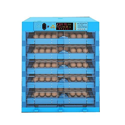TANGIST Technics Incubato Incubadora de Huevos Automatica de Huevos 160 Huevos Pantalla Digital Automático de Temperatura Y Humedad para Gallinas,Patos,Gansos,codornices