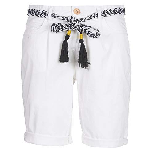 DEELUXE STATE Pantaloncini & Bermuda donne Bianco - IT 38 (EU 34) - Shorts / Bermuda