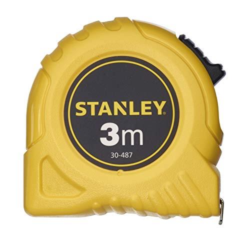 Stanley 0-30-487 Flexómetro de 3m de largo y 12.7 de anchura, 3 m