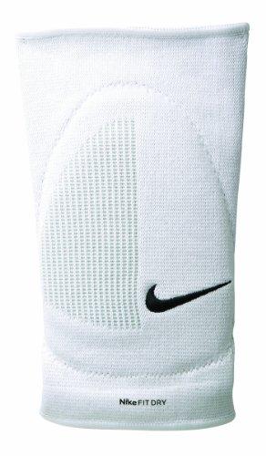 Nike Fit Dry Skinny Knee Pad Ak0024-100 Herren Turnhalleknieschützer Weiss