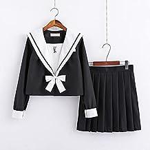YUXIwang matroos pak Japanse Jk Uniformen Herfst Lange Mouw College Middelbare School Uniform Jurk Compatibel met Meisjes ...
