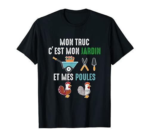 Cadeau Original Jardinage Cadeau Retraite Humour Homme Noël T-Shirt