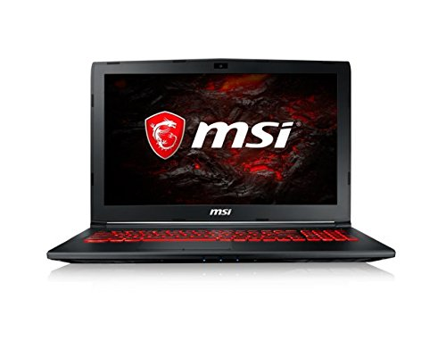 MSI GL62MVR 7RFX-1272XES - Ordenador portátil de 15.6 FHD (Kabylake i7-7700HQ+HM175, 16 GB de RAM, SSD de 256 GB, Nvidia GeForce GTX 1060, sin sistema operativo) negro