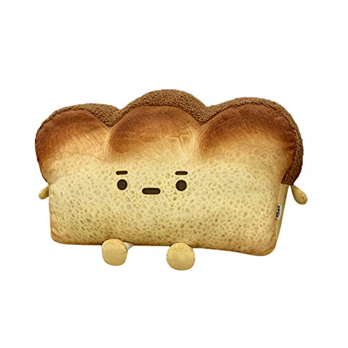 Plush Toys for Adults and Children,Bread Slice Pillow Gift Home Bedroom Decoration Valentine's Day Birthday Gifts Presents Home Bedroom Sofa Decoration