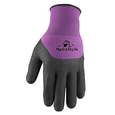 Women's Winter Gloves, Water-Resistant Grip Coating, Medium (Wells Lamont 554M)