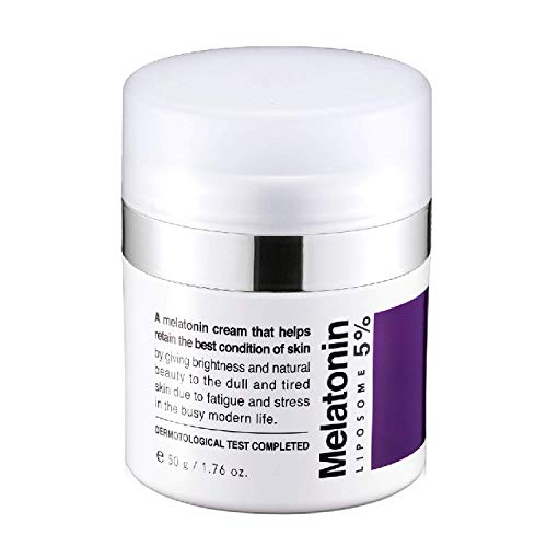 MAXCLINIC Time Return Melatonin Cream 50g 1.8oz Crema Melatonia de noche para mujeres reafirmante reparadora facial