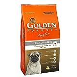 Ração Golden Fórmula Mini Bits Light para Cães Adultos de Pequeno Porte Sabor Frango e Arroz, 10,1kg Premier Pet Para Todas Pequeno Adulto,