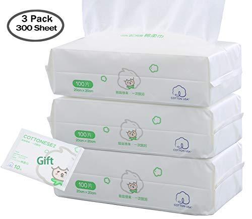 3 paquetes de limpieza facial para la piel