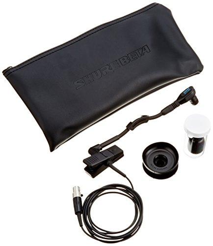 Shure WB98H/C - Micrófono condensador cardioide en miniatura de instrumento con pinza (versión inalámbrica del BETA 98H/C)