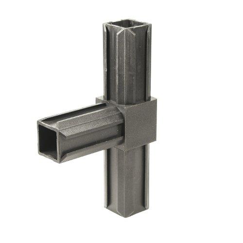 GAH-Alberts 426378 XD-Rohrverbinder - T-Stück, Kunststoff, schwarz, 20 x 20 x 1,5 mm / 10 Stück