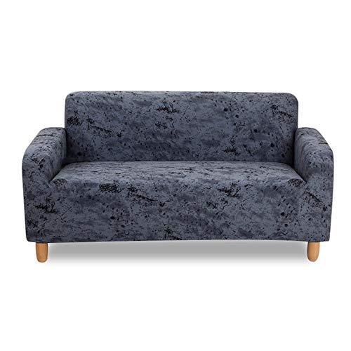 KTUCN Fundas de sofá, Fundas de sofá elásticas universales súper Suaves Funda de sofá de Spandex Funda de sofá de Esquina seccional, 8, A-B 90-140cm
