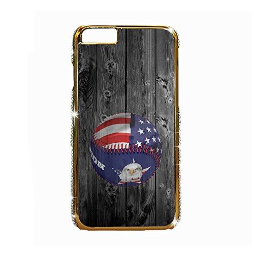 Carcasa De Plástico Compatible Apple iPhone 6P 6Ps Impresión Baseball 3 Niño Solamente Choose Design 115-2